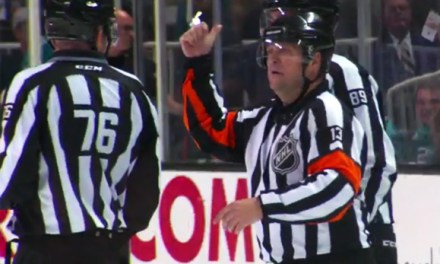 Mic'd Up: Referee Dan O'Halloran at Sharks/Blues Game 4