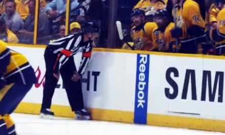 Mic'd Up: Referee Jean Hebert for Sharks/Preds Game 6