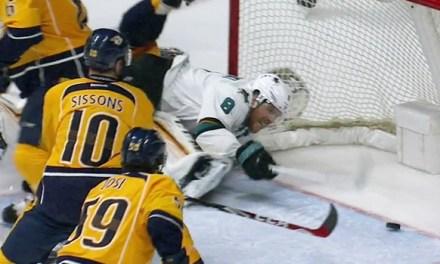 Sharks' Pavelski's OT Goal Waved Off For Interference