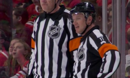 Mic'd Up: Referee Kelly Sutherland at Blues/Blackhawks Game 6