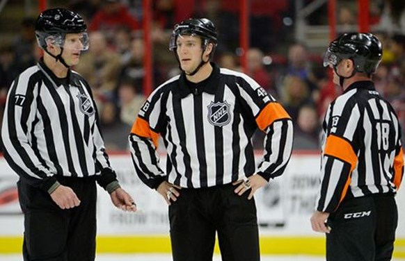 NHL Promotes Referee Garrett Rank
