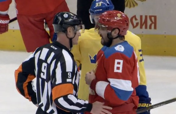 Mic'd Up: Referee Dan O'Rourke at Sweden/Russia