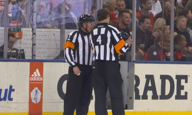 Mic'd Up: Ref Kelly Sutherland for Canada/Europe Final