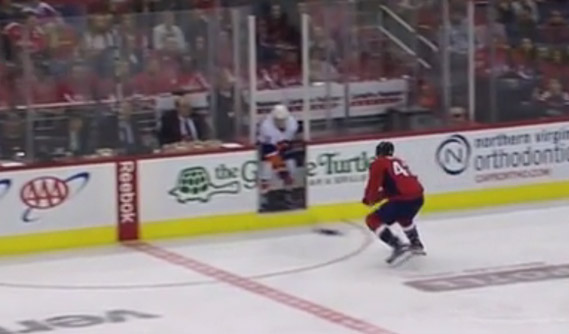 Isles Rookie Barzal Penalized for Playing Puck From Penalty Box