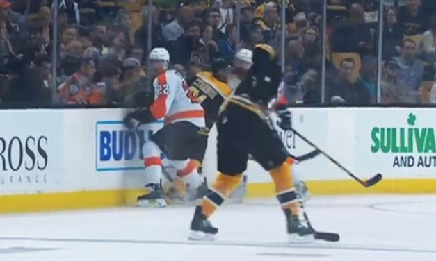Flyers' Gudas Suspended Six Games For Hit On Bruins Czarnik