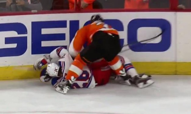 Flyers' Gudas Avoids Suspension for Vesey Hit