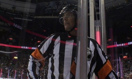 Referee Mike Leggo Mentoring New Refs in AHL