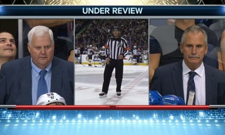 Ref Mike Leggo Has Some Good News, Some Bad News