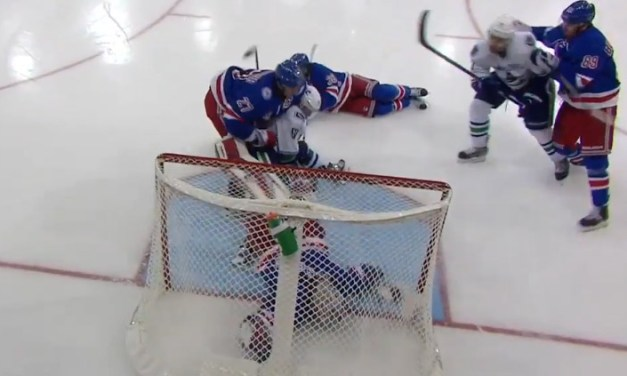 Rangers' Raanta Pulled From Game By Concussion Spotter
