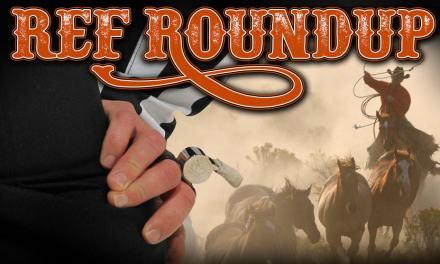 Ref Roundup: Mills Debuts, Christison Passes, Komet Changes Course