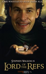 NHL All-Star Refs Movie Posters - Lord of the Refs