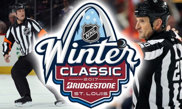 Refereeing Winter Classic A Career Highlight for NHL's Tim Peel