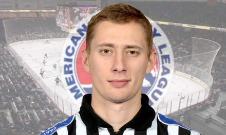Czech Linesman Libor Suchanek to Join AHL