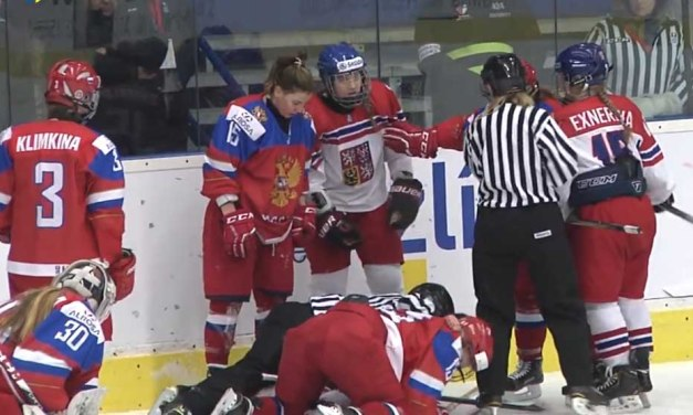 Russians, Czechs Brawl At Women's U18 World Championship