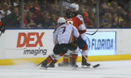 No Suspension for Ducks' Manson for Hit on Smith