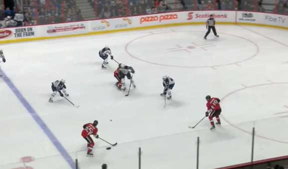 Jets' Trouba Face Hearing for Hit on Sens' Stone