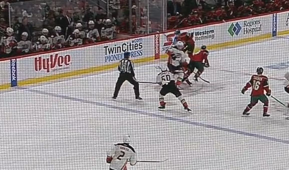 Vermette Returns to Ducks' Lineup After Abuse of Officials Suspension