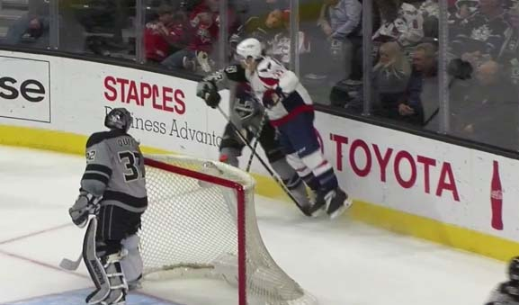 Caps' Shattenkirk to have Hearing for Charging Gravel