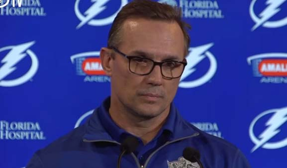 Tampa GM Yzerman Open to Changing Offside Rule