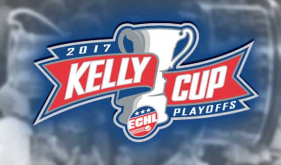 Today's ECHL Playoff Referees & Linesmen – 4/14/17