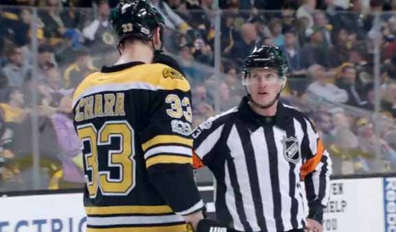 Mic'd Up: Ref Kevin Pollock at Bruins/Sens Game 4