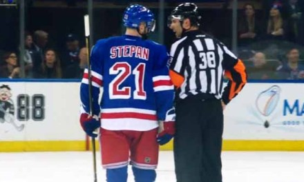 Mic'd Up: Ref Francois St. Laurent at Habs/Rangers Game 6