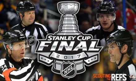 Tonight's NHL Stanley Cup Final Referees & Linesmen – Game 5 – 6/8/17
