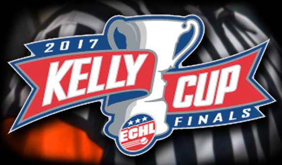 ECHL Kelly Cup Final Referees and Linesmen – 2017