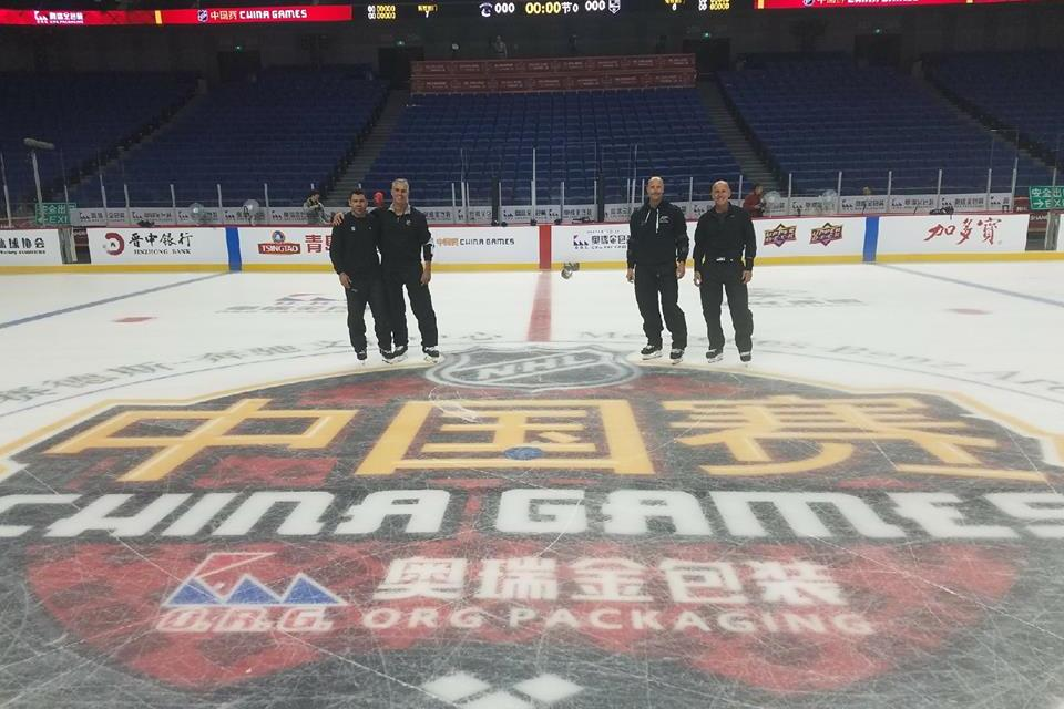 NHL Referees, Linesmen Head to China