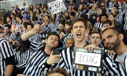 Referees Rally At Islanders Game