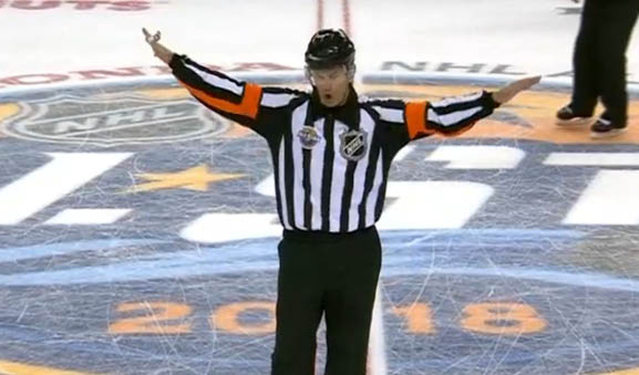 McCauley's All Star Announcement on Offside Goal