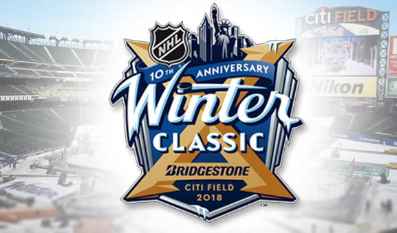 Tonight's NHL Referees and Linesmen – Winter Classic 1/1/18