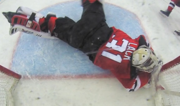 """Devils """"Disappointed"""" After Bruins' Goal Confirmed by Replay"""