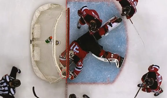 Tim Schaller's goal for Bruins vs NJ Devils