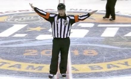 Referee Wes McCauley Mic'd Up at All-Star Game