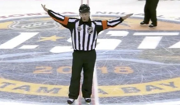 Referee Wes McCauley Mic'd Up at All-Star Game