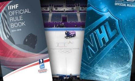 Rules Comparison: IIHF/Olympics vs. NHL
