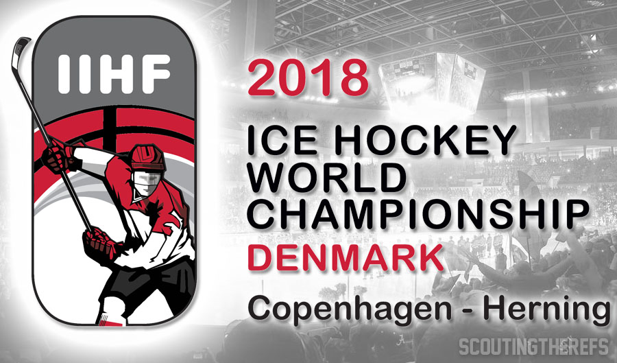 Today's IIHF World Championship Referees and Linesmen – 5/17/18