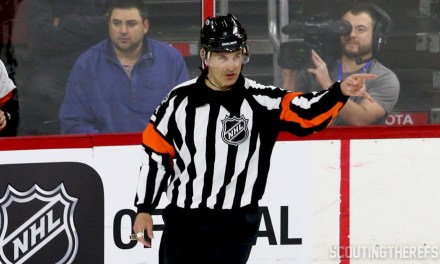 NHLPA Survey Names Wes McCauley League's Best Ref