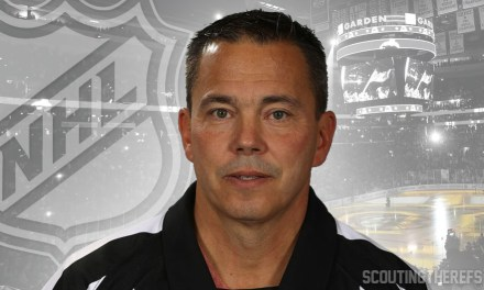 Referee Tom Kowal Officiates Final NHL Game