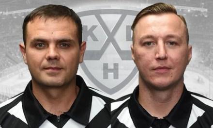 KHL Names Olenin, Sadovnikov as 2018 Golden Whistle Winners