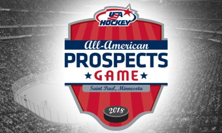 Referees and Linesmen for 2018 USA Hockey All-American Prospects Game
