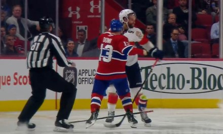 Habs' Max Domi Earns Match Penalty, Suspension for Sucker Punch