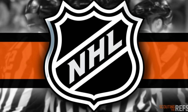 Tonight's NHL Referees and Linesmen – 10/6/18