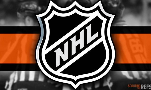 Tonight's NHL Referees and Linesmen – 10/5/2019