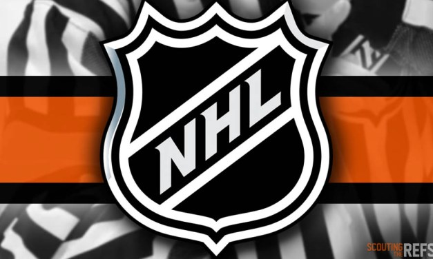Tonight's NHL Referees and Linesmen – 9/26/18