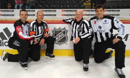 NHL Linesman Lonnie Cameron Calls It a Career