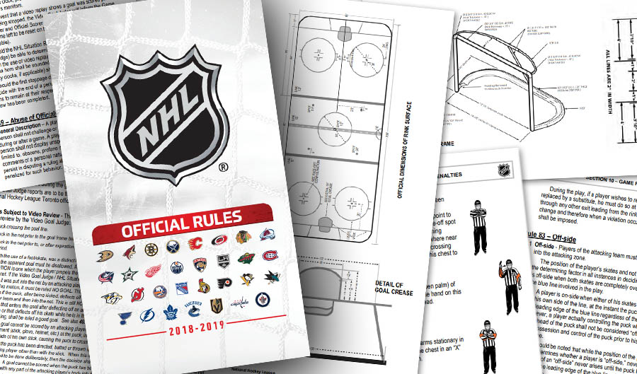 NHL Rule Changes for 2018-19