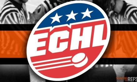 Tonight's ECHL Referees and Linesmen – 12/20/18