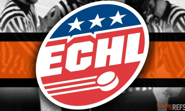 Tonight's ECHL Referees and Linesmen – 10/27/18